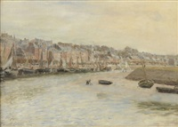 trouville by maurice françois auguste courant