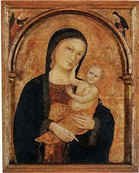 the madonna and child by niccolò di tommaso