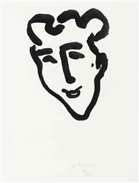 masque aigu by henri matisse