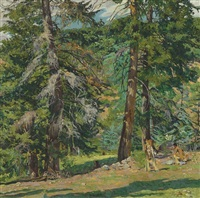 the hunters by walter ufer