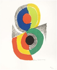 composition by sonia delaunay-terk