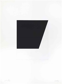 concorde iv, from the concorde series by ellsworth kelly