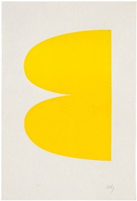 yellow (ii.2) by ellsworth kelly