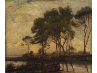 paesaggio by achille vertunni