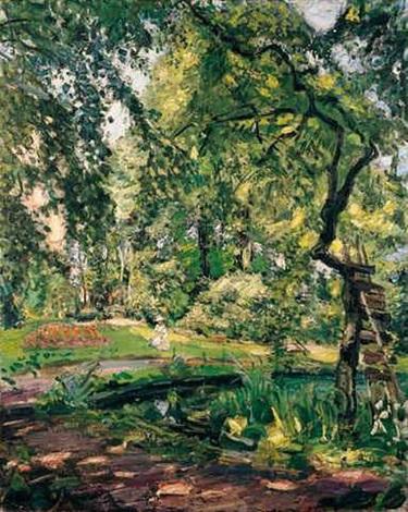Baum Und Garten garten in godramstein mit verwachsenem baum und weiher garden in