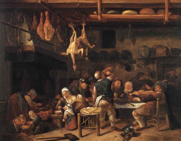 The Bountiful Kitchen Kitchenmaids Feeding Children And