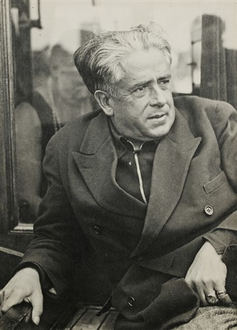 francis picabia à saint tropez by man ray