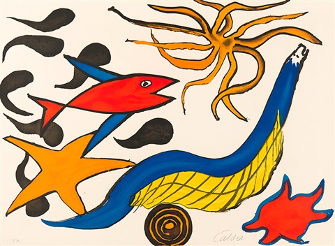red fish by alexander calder