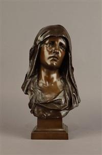 buste de femme by eugène marioton
