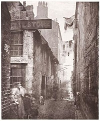 old closes and streets of glasgow by thomas annan