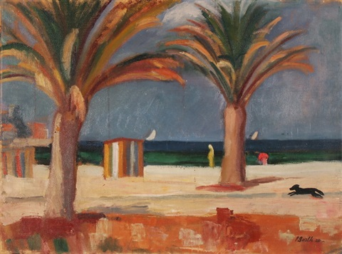 strand in cannes by paul basilius barth