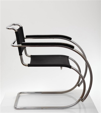 Armchair (model Mr 534) By Ludwig Mies Van Der Rohe