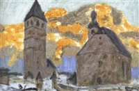 the senate building, harrisburg by albert webster davies