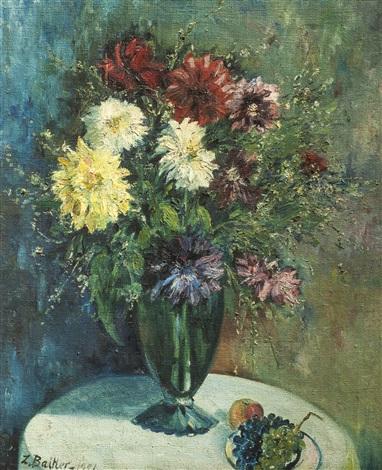 Jarrón con flores by Zoma Baitler on artnet