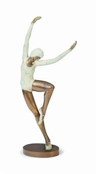 untitled (dancer) by prince monyo mihailescu-nasturel