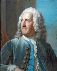 portrait (d'étienne perinet, chevalier de jars ?) by maurice quentin de la tour