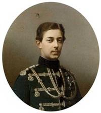 portrait of tsarevich nikolai alexandrovich by sergei konstantinovich zaryanko