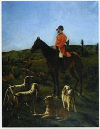 chasse à courre by edmond assier de latour