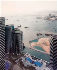 hong kong port by andreas gursky
