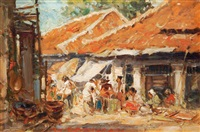 pasar (market) by gerard adolfs