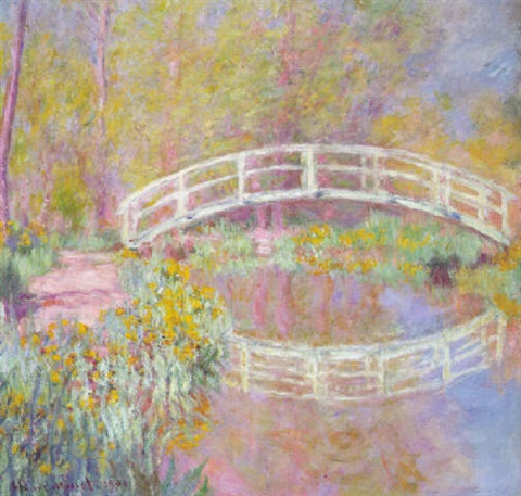 Pont dans le jardin de monet by claude monet on artnet - Les jardins de monet ...