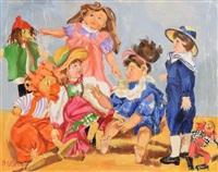 puppets by sarah le jeune