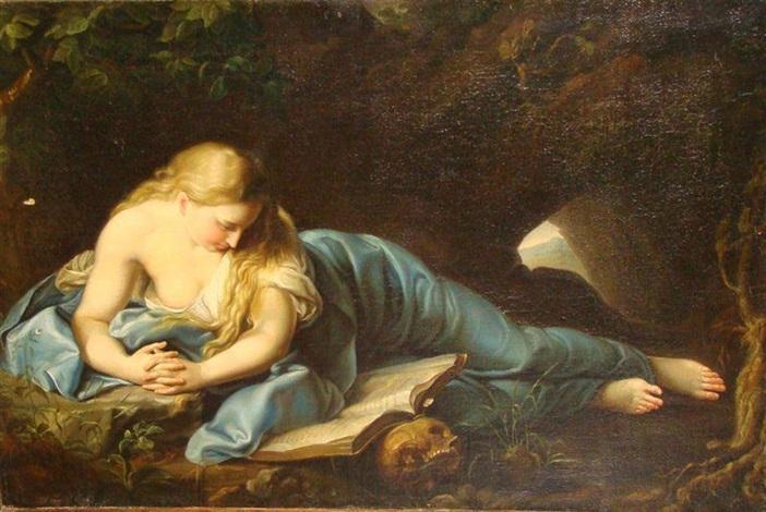 sainte marie madeleine by pompeo girolamo batoni