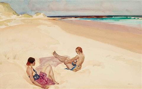 jessica and dorina by william russell flint