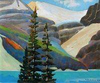 yoho national park by william (h.w.) townsend