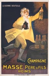 champagne massé père & fils, reims by marcellin auzolle