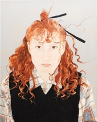 untitled (self-portrait) by cressida campbell