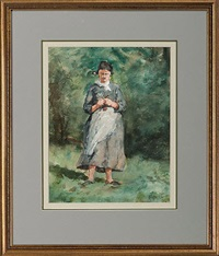 figure of woman in munich by william forsyth