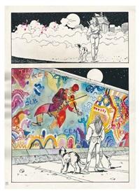 après le mur, les humanoïdes associés by milo manara