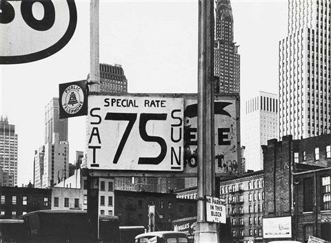 second avenue and 40th street new york by william klein