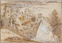 grande cascade de tivoli by etienne jeaurat