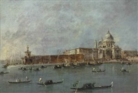 the entrance to the grand canal by francesco guardi