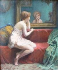 devant le miroir by louise amelie landre