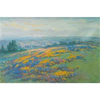 california field poppies by william franklin jackson