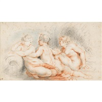 nymphs by theodor van thulden