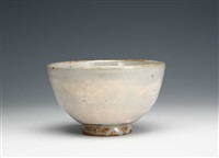 a kohiki porcelain tea bowl by kitaoji rosanjin