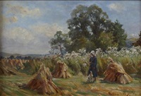 harvest time glen findlas by robert payton reid