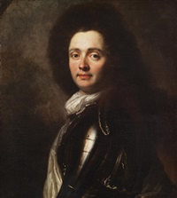 porträt des herzog von marlborough john churchill by anonymous-british