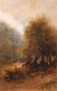 en forêt by louis hippolyte le bas