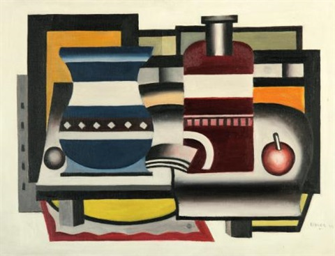 nature morte by fernand léger