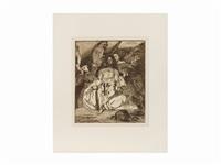 christ aux anges by édouard manet