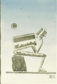 robot (á la rodin) by r.o. blechman