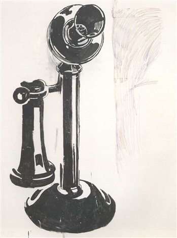 Old Telephone by Andy Warhol on artnet