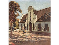 groot constantia homestead by robert gwelo goodman