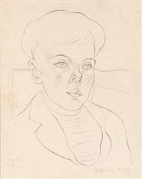 portrait de jeune homme by juan gris