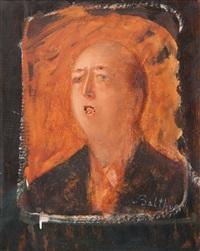 portrait de claude hersaint by balthus